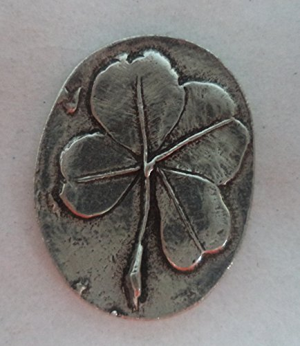 Clover Pocket Stone (A4502C) - - Good Luck Token