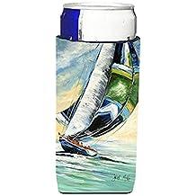 Cruising the Coast Sailboats Ultra Beverage Insulators for slim cans JMK1163MUK