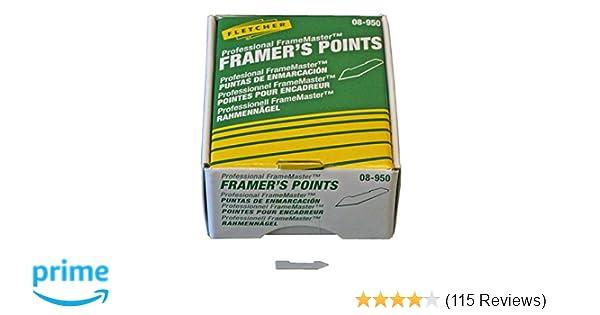 Fletcher 08-950 Framers Points x 3000 for Framemaster