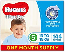 Save on Huggies One-Month Supply Nappies