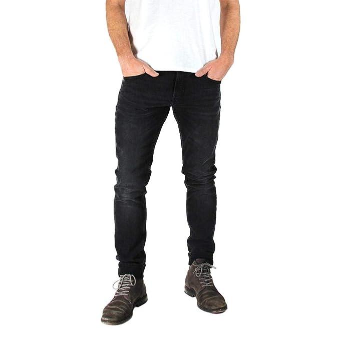 Kuyichi Herren Jeans Kale Skinny Bio Baumwolle, Black Used