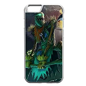 FiddleSticks-001 League of Legends LoL case cover for Apple iPhone 6 Plus - Hard White