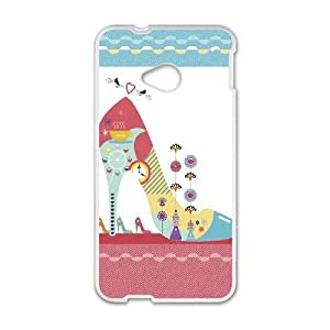 Heeled Shoes Images Ideal Phone Shell,This Shell Fit To HTC One M7