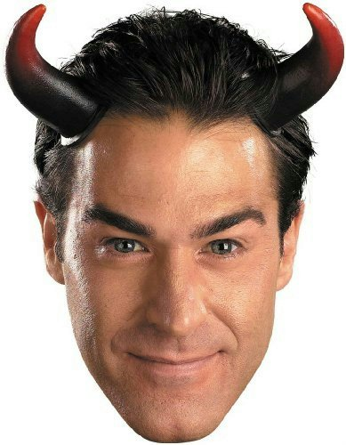 Disguise Costumes Oversized Devil Horns, Adult