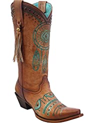 CORRAL Womens Dreamcatcher Cowgirl Boot Snip Toe - C2981