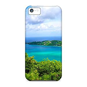 New Premium WKmLcsv7044rIOCh Case Cover For Iphone 5c/ Tropical Islands Protective Case Cover