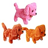 Lovely Plush Walking Barking Electronic Moving Dog Toy pet Toy PO