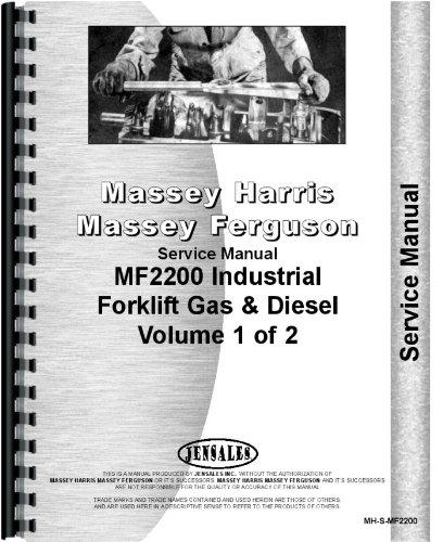 Massey Ferguson 2200 Industrial Tractor Service Manual