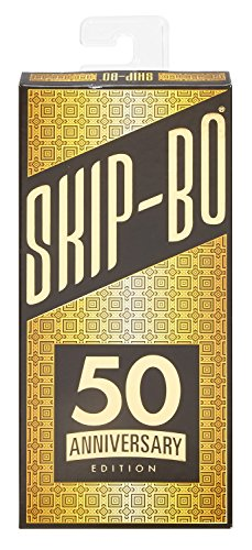 Mattel Games Skip-Bo 50th Anniversary Edition (Uno Stack)