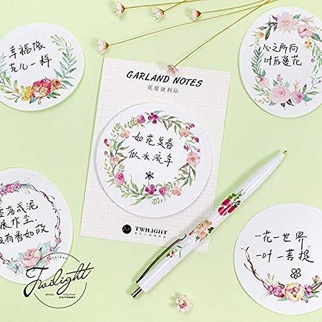 Amazon.com : Best Quality - Memo Pads - pcs/Lot Floral ...