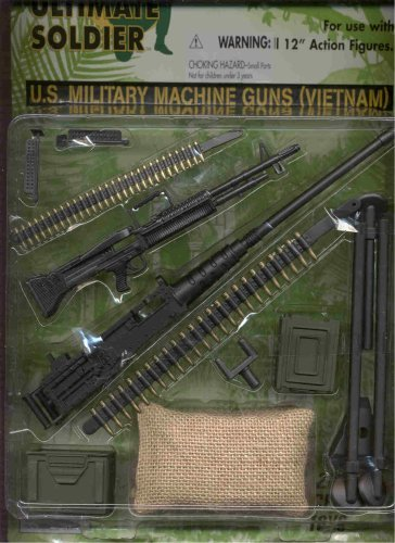 The Ultimate Soldier U.S. Military Machine Guns (Vietnam)