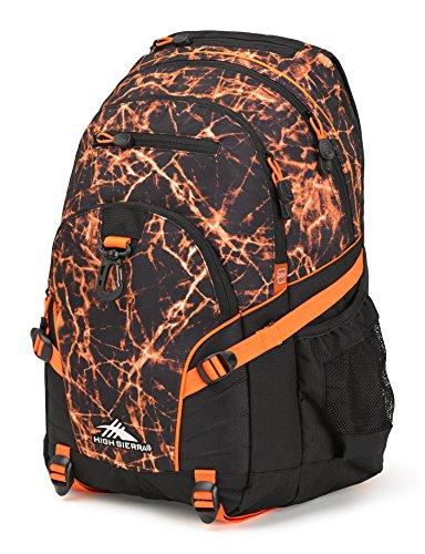 - High Sierra Loop Backpack, Fireball/Black/Electric Orange