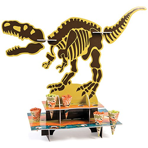 Dino Dig Party Treat Stand with Cones (Treat Cone Stand compare prices)