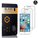 iPhone 6 / 6S / 7/8 Screen Protector Tempered Glass, Bear Village® HD Screen Protector, 9H Scratch Resistant Screen Protector Film for iPhone 6 / 6S / 7/8-2 PACK
