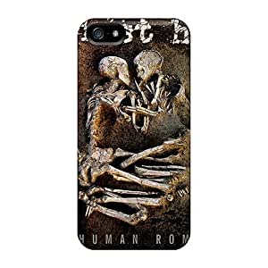 Scratch Protection Cell-phone Hard Covers For Iphone 5/5s With Unique Design Realistic Papa Roach Pictures SherieHallborg