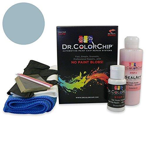 (Dr. ColorChip GMC G10-G30-P Series Automobile Paint - Light Blue (Bar Harbor) Metallic 21 - Squirt-n-Squeegee Kit)