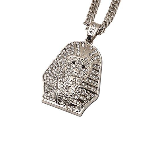 0df5d6401 MYVIYSENY Acero inoxidable Collar Colgante Hip hop Oro de los hombres Moda  Joyería Outlet