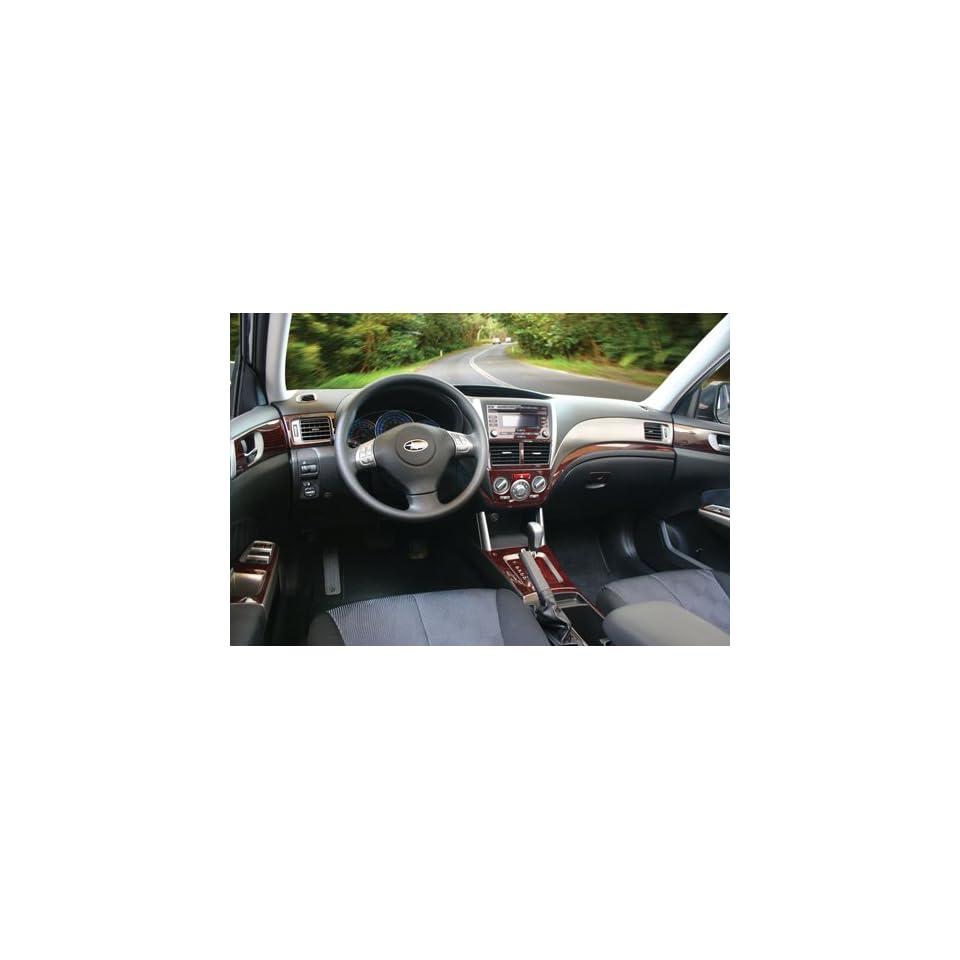 & STI Tape on Real Walnut Burl Wood Veneer Dash Kit by C&C Car Worx