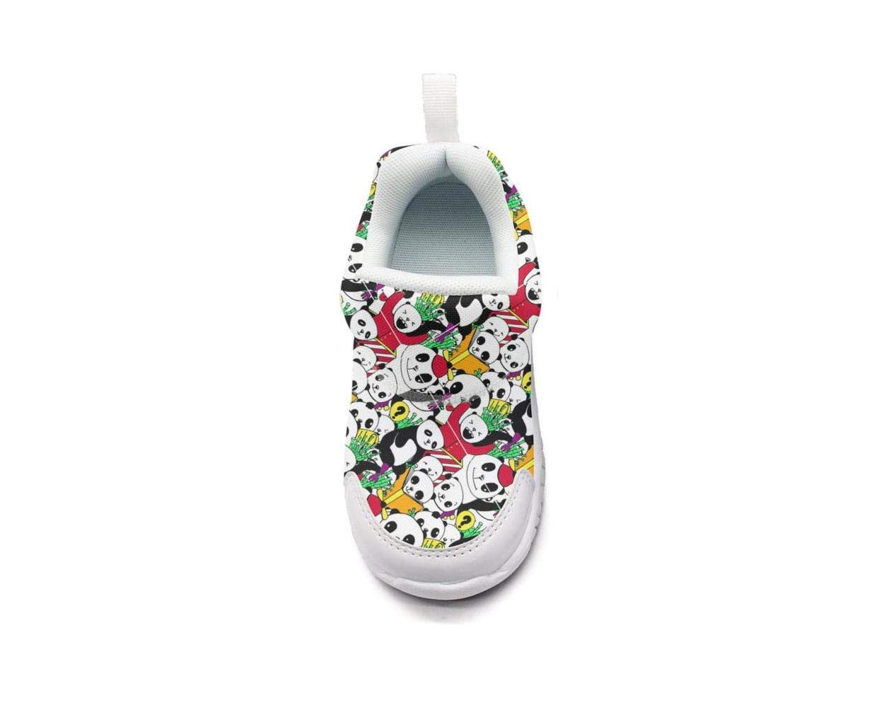ONEYUAN Children Panda Bear Party Kid Casual Lightweight Sport Shoes Sneakers Walking Athletic Shoes