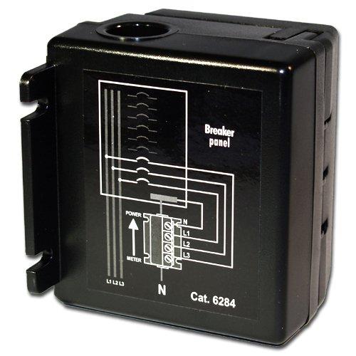 - Leviton 6284 DHC Multi-Phase Blocking Coupler, 200-Amp Max, 120/208/240-Volt 1-Phase, Black