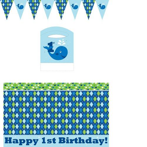 Creative Converting Ocean Preppy Birthday