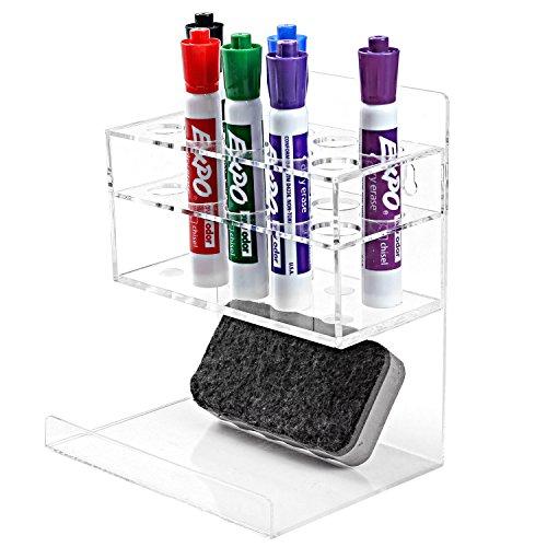 MyGift Acrylic Whiteboard Marker Hanging
