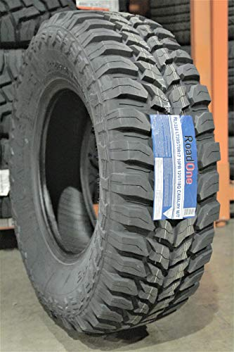 Road One Cavalry M/T Mud Tire RL1288 285 70 17 LT285/70R17, E Load Rated (Tire 275 70 R17)
