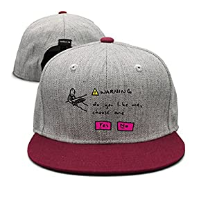 Love Quotes About Poems Love Like Unisex Flat Brim Hip-Hop Hats and Caps