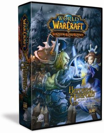 Juego de cartas World Of Warcraft Héroes (BRA25) (versión en inglés): Amazon.es: Juguetes y juegos