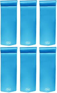 product image for Texas Recreation Splash 70 Inch Foam Raft Lounger Pool Lake Float, Blue (6 Pack)