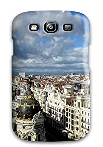 Stevenson Elizabeth's Shop Hot 2750991K64276832 Protection Case For Galaxy S3 / Case Cover For Galaxy(madrid City)