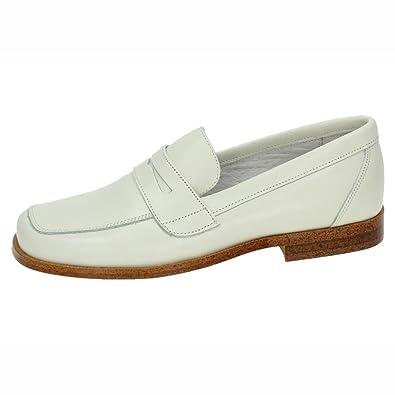 YOWAS 6054 MOCASÍN COMUNIÓN NIÑO Zapato COMUNIÓN BEIG 32