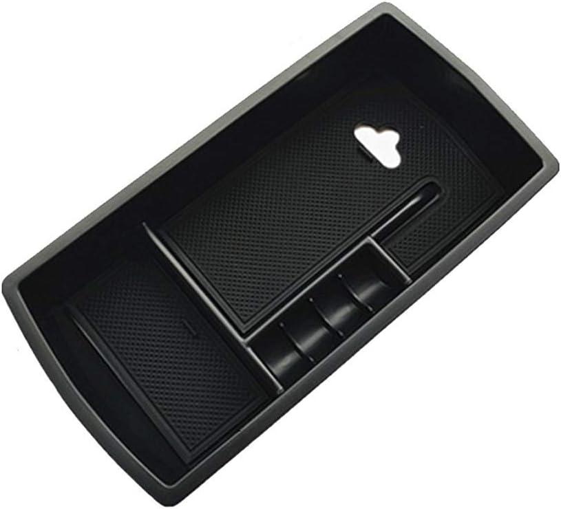 Yueng Support de bo/îte de Rangement daccoudoir int/érieur en Plastique Noir pour Voiture 1-Pack