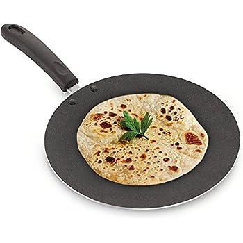 Amazon.com: Kabalo 28.5cm Large Non-stick Tawa Tava Pan Naan Roti ...