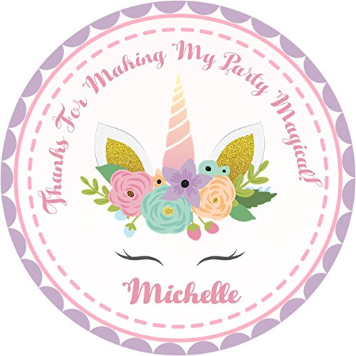 Unicorn Birthday Party Sticker Favors Supplies Decorations