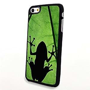 Generic Phone Accessories Matte Hard Plastic Phone Cases Cartoon Animal Frog fit for Iphone 6 Plus