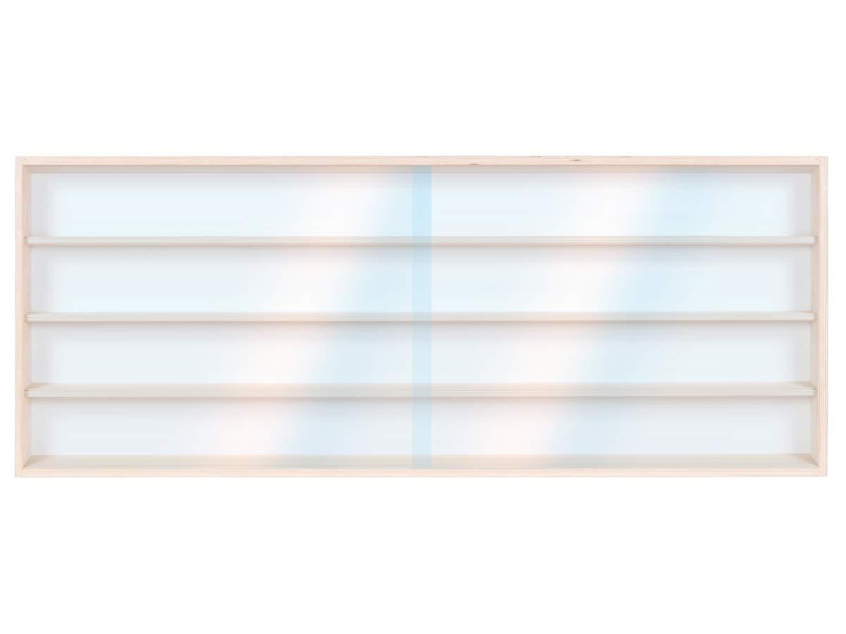 Regal H0 150 cm 4 F/ächer V150.4 Vitrine Spur HO /& N