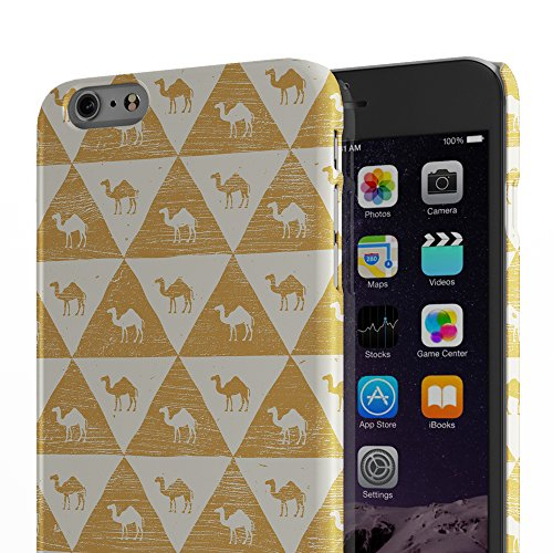 Koveru Back Cover Case for Apple iPhone 6 Plus - A bird and Giraffe Egyptology