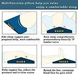 Lumbar Support Pillow for Sleeping,Memory Foam