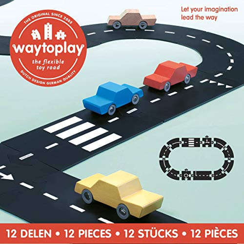- Way To Play Toys Flexible Race Track Toy Road Set Ring Road 12 Pieces