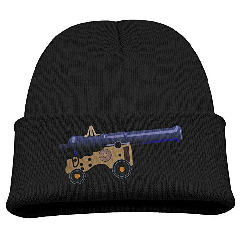 Banana King Civil War Cannon Artillery Weapons Smoothbores Baby Beanie Hat Toddler Winter Warm Knit Woolen Watch Cap for Kids