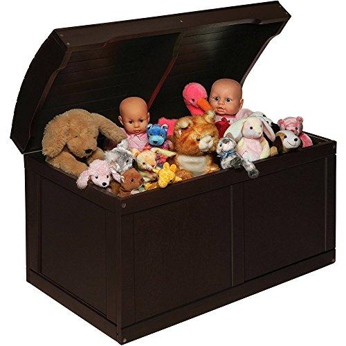 espresso barrel top toy chest - 7