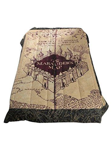 Marauders Map Bedding Amazon.com: Harry Potter The Marauder's Map Full/Queen Comforter  Marauders Map Bedding
