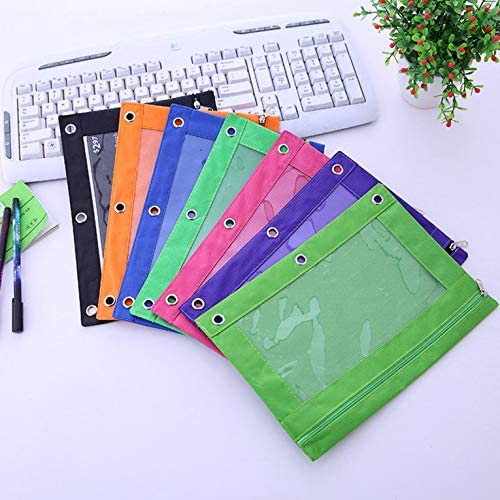 Office Bill Fold Draagbare canvas map tas leuke cartoon documententas papier organizer scholieren schrijfwaren