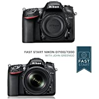 Nikon D7200 DX-format DSLR Body (Black) w/ Fast Start Course