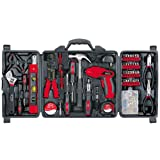 162 pc DIY Tool Kit with 4.8V Rechargeable Cordless Screwdriver