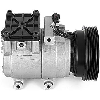 2003-2008 Hyundai Tiburon V6 2.7L 2 Year Warranty New AC A//C Compressor FITS