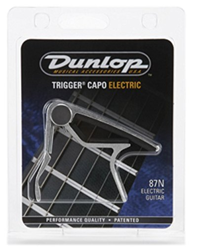 Dunlop 87N Electric Trigger Capo, Curved, Nickel
