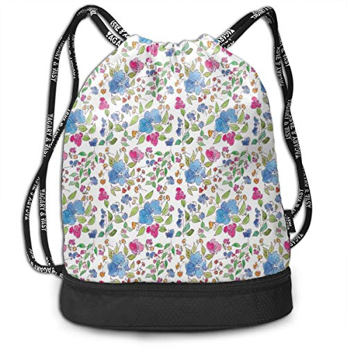 Best Cottage Garden Collections Friends Arts - Drawstring Backpack bags, Composition Of Hand
