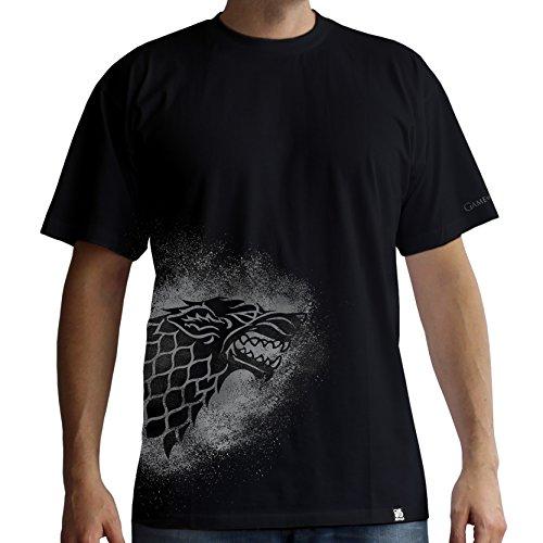s Of hombre negro Thrones camiseta Stark Abystyle Game para Spray AWwxzZTFn
